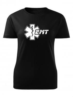 Dámské tričko EMT Emergency Medical Technician