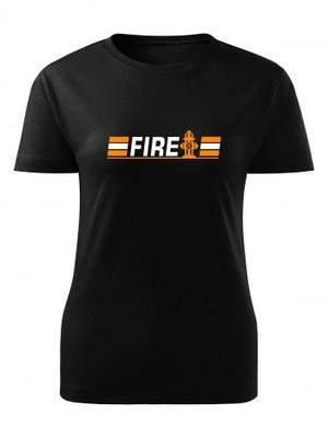 Dámské tričko FIRE