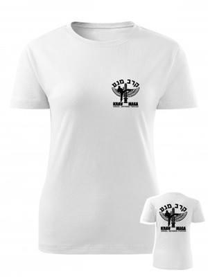 Dámské tričko IDF Krav Maga - BACKSIDE