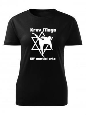 Dámské tričko Krav Maga IDF martial arts