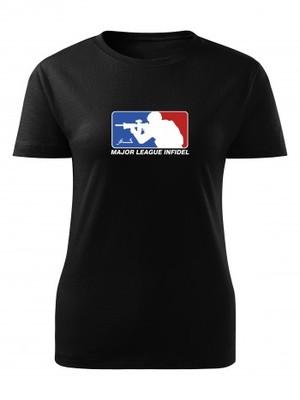 Dámské tričko Major League Infidel
