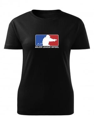 Dámské tričko Major League Pistol