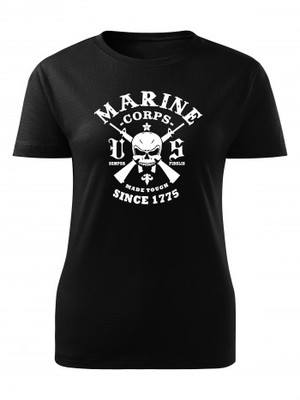 Dámské tričko Marine Corps Made Tough