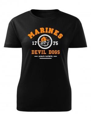 Dámské tričko Marines Devil Dogs