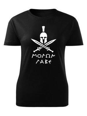 Dámské tričko Molon Labe Swords