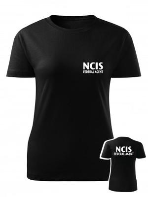 Dámské tričko NCIS Federal agent