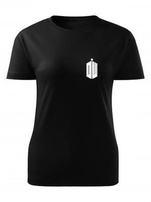 Dámské tričko Pán času DW TARDIS Small