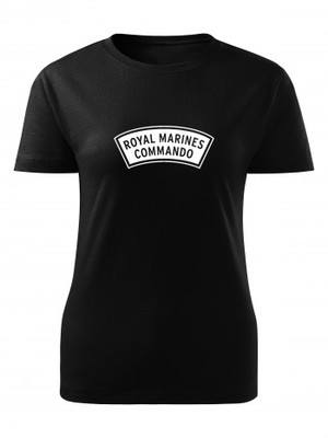 Dámské tričko ROYAL MARINES COMMANDO