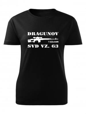 Dámské tričko SVD Dragunov