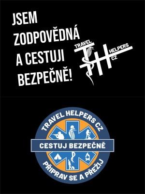 Dámské tričko TRAVEL HELPERS - cestuj bezpečně