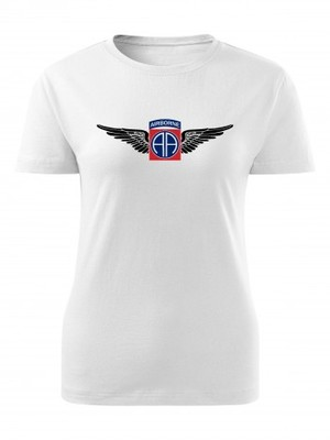 Dámské tričko U.S. Army 82nd Airborne Division WINGS
