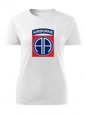 Dámské tričko U.S. Army 82nd Airborne Division