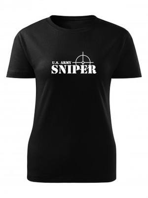 Dámské tričko U.S. ARMY SNIPER