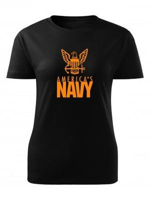 Dámské tričko U.S. NAVY Americas Navy Eagle