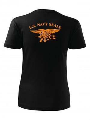 Dámské tričko United States NAVY SEALS BACKSIDE