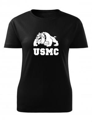 Dámské tričko USMC Devil Dogs