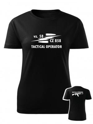 Dámské tričko vz. 58 CZ 858 Tactical Operator BACKSIDE