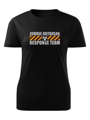 Dámské tričko Zombie Outbreak Response Team