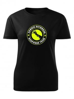 Dámské tričko Zombie Outbreak Response Team Zombie Hand