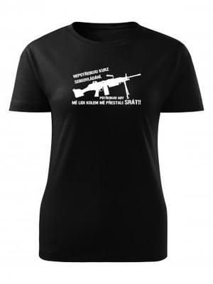 Dámské triko KURZ SEBEOVLÁDÁNÍ M249