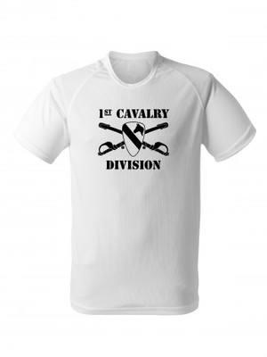 Funkční tričko 1st Cavalry Division Sabres and Horse