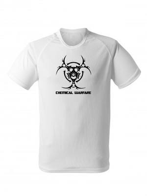 Funkční tričko Biohazard Chemical Warfare