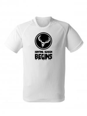 Funkční tričko DEER Hunting Season Begins