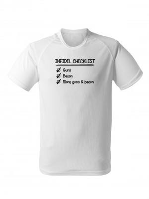 Funkční tričko INFIDEL CHECKLIST
