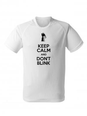 Funkční tričko KEEP CALM AND DON'T BLINK