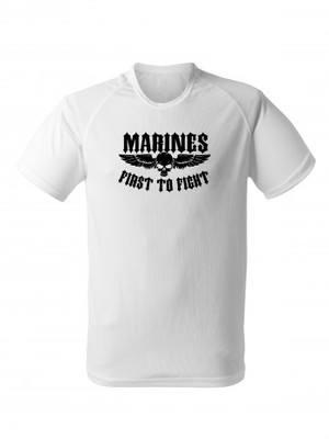 Funkční tričko MARINES First to Fight