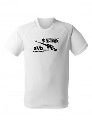 Funkční tričko SVD DRAGUNOV CZECH ARMY SNIPER