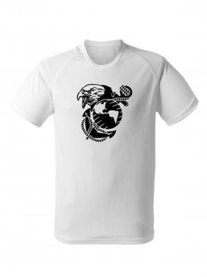 Funkční tričko USMC EGA Eagle