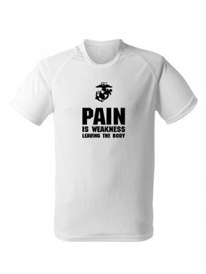 Funkční tričko USMC PAIN IS WEAKNESS LEAVING THE BODY