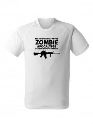 Funkční tričko Zombie Apocalypse M4 Carbine