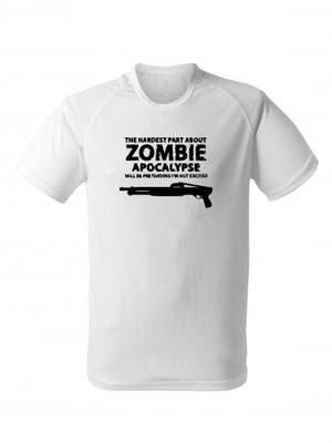 Funkční tričko Zombie Apocalypse Shotgun FORT