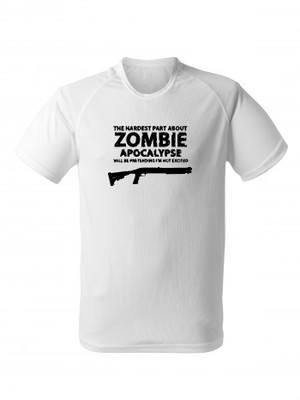 Funkční tričko Zombie Apocalypse Shotgun Remington