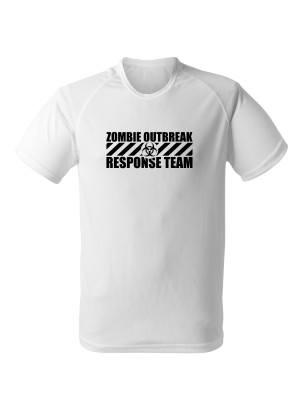 Funkční tričko Zombie Outbreak Response Team
