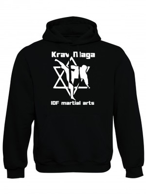 Mikina s kapucí Krav Maga IDF martial arts