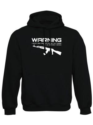 Mikina s kapucí BAD HABIT AK-47