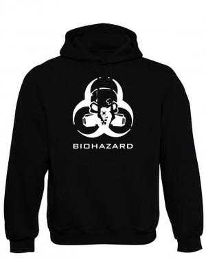 Mikina s kapucí Biohazard