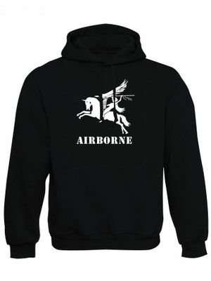Mikina s kapucí British Airborne Pegasus