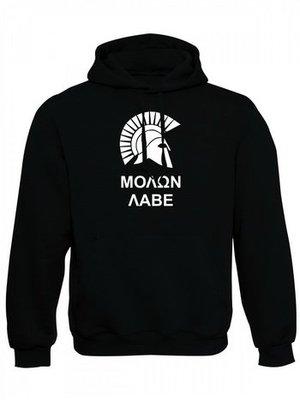 Mikina s kapucí MOLON LABE Two Line