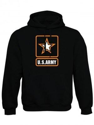Mikina s kapucí U.S. ARMY Logo