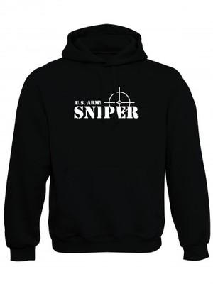 Mikina s kapucí U.S. ARMY SNIPER