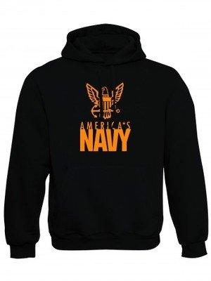 Mikina s kapucí U.S. NAVY Americas Navy Eagle
