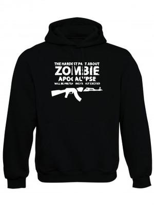 Mikina s kapucí Zombie Apocalypse Kalashnikov AKM