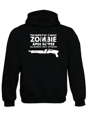 Mikina s kapucí Zombie Apocalypse Shotgun FORT