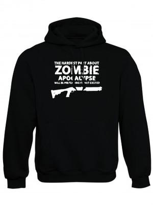 Mikina s kapucí Zombie Apocalypse Shotgun Remington
