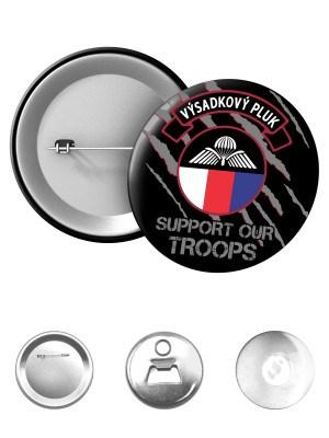 Odznak 43. výsadkový pluk