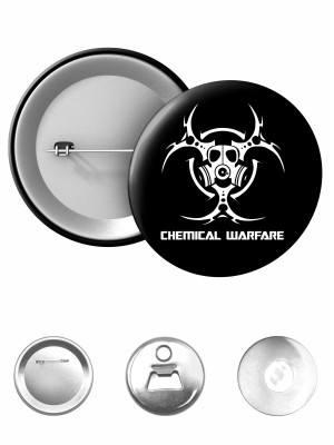 Odznak Biohazard Chemical Warfare